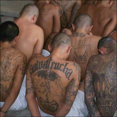 Dear Lord, save our brothers from evil---MS- 13-Incarcerated Members
