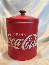 Coca Cola Tin Cookie Jar