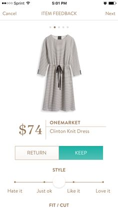 ONEMARKET Clinton Knit Dress - Stitch Fix August 2016 -have it and love it to death!