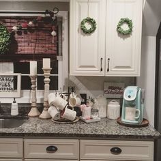 You guys- I know it's late but we just got back from the movies and if you haven't been to see 'MOANA' yet- you need to go, like, Yesterday. IT IS SO GOOD!  Oh and I've been playing around with this little area in the kitchen, I have a pretty crazy obsession with hot cocoa this time of year☕️ Oh and Moscow Mules! If you're looking for the recipe for the Cranberry Moscow Mules I shared in my IG story the other day- I shared it on www.TheGlamFarmhouse.com today! You're welcome Cheers!...