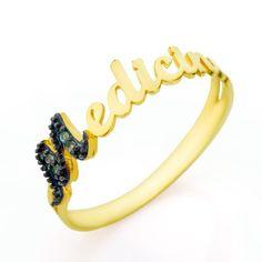 Anel de Formatura em Ouro 18K Medicina com Esmeraldas an33159 - Joiasgold