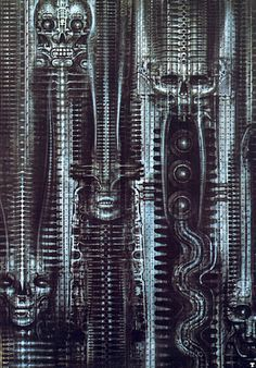 HR Giger - From the biomechanics series