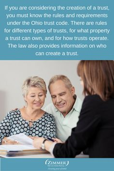 If you are considering the creation of a trust, you must know the rules and requirements under the Ohio trust code. There are rules for different types of trusts, for what property a trust can own, and for how trusts operate. The law also provides information on who can create a trust. #CreatingATrust #LegacyPlan #EstatePlan #OhioTrustCode #CincinnatiEstatePlanningLawyer #CincinnatiTrustAttorney