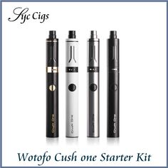 >> Click to Buy << Original Wotofo Cush one Starter Kit with 0.5ohm Coils Head Electronic Cigarette Pen Style Vape Kit #Affiliate