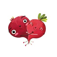 Beets in love - Personal wedding card on Behance