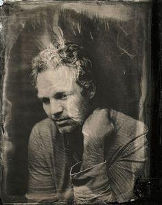Dramáticos retratos de celebridades contemporáneas al estilo 1860 2014 Sundance TIn Type Portraits -  Mark Ruffalo