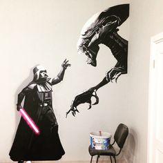 #wallpainting #art painting of walls