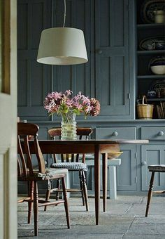 perfectly painted cabinets
