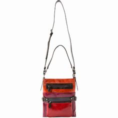 Harper Double Handle Crossbody in Berry, $88.99, by Shiraleah
