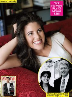 This stunning woman, Monica Lewinsky, was abused and trashed by then-Pres. Bill Clinton while she was an intern. He was impeached for it and last his law license for lying under oath. The Clintons are trashy social climbers lusting for money and power. Deny them both.