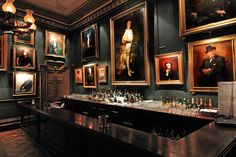 Convert Your Garage into a Man Cave - Man Cave Home Bar Pub Interior, Interior Design, Restaurant Design, Restaurant Bar, Zigarren Lounges, Casa Milano, Speakeasy Bar, Café Bar, Cigar Bar