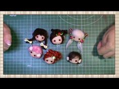 Tutorial: Broches y colgantes de Pepitas - YouTube