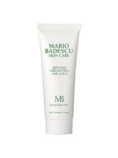 Mario Badescu Rolling Cream Peel with AHA | allure.com
