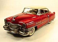 1953-Cadillac-4-Door-Sedan-12-Tin-Car-by-Gama-NR Old Toys, Cadillac, Tin, Doors, Ebay, Toys, Pewter, Slab Doors, Puertas