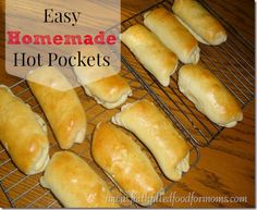 Make your own Homemade Hot Pockets ~ easy and deelish! / Faith Filled Food for Moms
