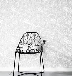 Tapete SummerBreeze  >< wallpaper with white butterflies