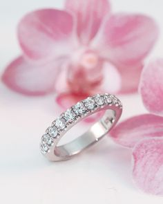 The ultimate diamond wedding band, featuring .75 ct of round sparkling diamonds. #showyourcoast Style No. WZ5001H Want to know how much a piece costs? One of our authorized dealers can provide you with pricing. To find an authorized dealer near you, visit the authorized dealer section of our website. - - - - - - #ring #weddingband #bands #loveisnotcanceled #diamonds #2021love #ringinspo #bling #ringideas #wedding #ringdesigner #whitegold #platinum #platinumjewelry #whitegoldband #mesmerizeher