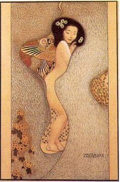 Walter Hempel, Japanese Woman, c. 1910