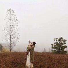 johnnaholmgren:  Foggy kiss. #momblog #portrait