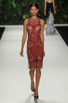 Naeem Khan Spring 2014 Ready-to-Wear Collection Slideshow on Style.com