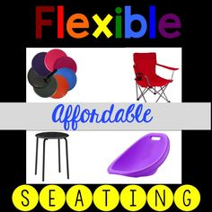 Lucky Little Learners  and this article by  Kayla Delzer  inspired me to help one of my co-workers implement flexible seating. She used...