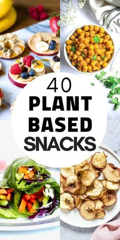 Plant Based Diet Meals, Plant Based Snacks, Vegan Recipes Plant Based, Plant Based Eating, Healthy Vegan Snacks, Vegetarian Snacks, Healthy Cooking, Healthy Sweets, Easy Vegan Snack