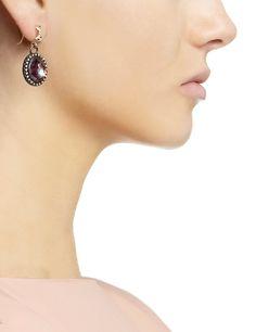 Midnight Mother Of Pearl Earrings | Armenta | Avenue32