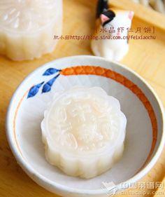 水晶虾仁月餠