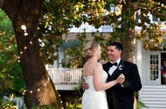 Beaufort Bride -Sarah & Andy   Southern by Design Weddings + Events - http://lowcountrybride.com   Bride and Groom