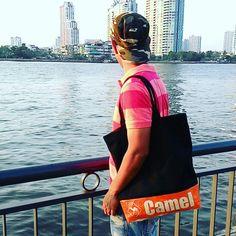 Eco Design Products Yala Bag www.chaaum.com #chaaum #ecodesign #recycledbag #recycledcementbag #recycledricebag #greenproducts