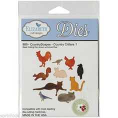 Elizabeth-Craft-Designs-Counbtryscapes-Country-Critters-1-Dies-989-Free-Ship