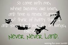 Gotta love Peter Pan