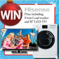 We're giving our Facebook Fans the chance to WIN this Happy Hisense Christmas Prize!This Competition will be unwrapped on the 9th December 2013! See you all back here then and don't forget to SHARE the news with all your friends!