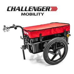 Challenger Mobility Scooter Trailer for Mobility Scooters and Electric Scooters Bike Cargo Trailer, Cargo Trailers, Kids Scooter, Scooter Girl, Scooter Price, Scooter Custom, Powered Wheelchair, Scooters For Sale, Custom Wheels