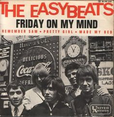Stevie Wright , the lead singer of the Australian band the Easybeats who scored the hit Friday on My Mind in is currently hospitalize. Music Covers, Cd Cover, Album Covers, Stevie Wright, Rock And Roll, Wall Of Sound, 60s Music, Blues Music, British Invasion