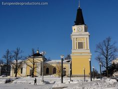 Old Church of Tampere in Finland