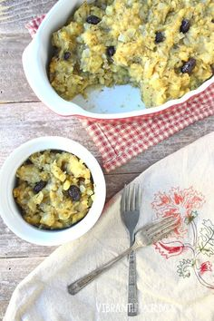 Grain Free Stuffing made with plantains