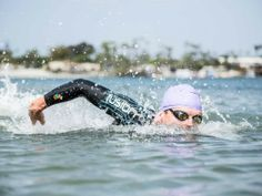 Competing in a triathlon with an open-water swim? Don't miss these tips from super swimmer John Flanagan. Open Water Swimming, Swimming Tips, Swimming Workouts, Triathlon Swimming, Swim Training, Triathlon Training, Cycling Tips, Cycling Workout, Xmas