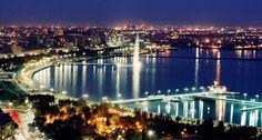 Baku, Azerbaijan: I learned of the place via The Amazing Race... interesting!