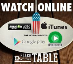 Movie night? Watch @A Place at the Table Film! Fantastic #documentary about #hunger!