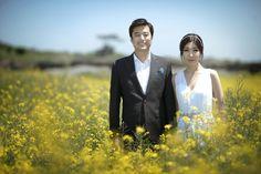 Wedding photo in Jeju Island therapeflowers