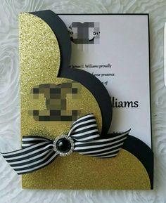 Check out this item in my Etsy shop https://www.etsy.com/listing/467191328/glitter-channel-invitationbirthday
