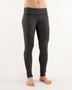 2833b1cc50 Lululemon Dressage Pant heathered black  74 on sale! Lulu Love