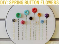 button embroidery hoop art is part of Embroidery hoop crafts - Button Embroidery Hoop Art Easyart EmbroideryHoops Kids Crafts, Diy And Crafts, Craft Projects, Sewing Projects, Arts And Crafts, Craft Ideas, 31 Ideas, Party Crafts, Felt Projects