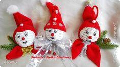 Поделка изделие Новый год Плетение новогодние игрушки Бумага газетная Трубочки бумажные фото 2