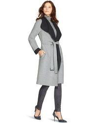 Reversible Wrap Coat