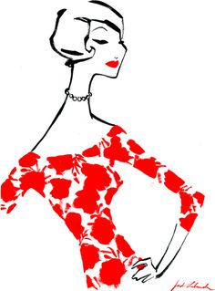 MIQUELRIUS, stationary collection designs, 2009 by Jordi Labanda, via Behance Fashion Illustration Sketches, Fashion Sketches, Illustration Art, Pretty Drawings, Affinity Designer, Design Seeds, Fashion Art, Fashion Design, Shades Of Red