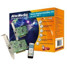 AVERMEDIA AVER-TV-SATELLITE PCI DVB-S PRO II Uydudan,Uzaktan Kumandalı HDTV Kartı