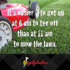My mom sent this to me on Facebook.  Gotta say it's funny because it's true!  It's #golf amirite?