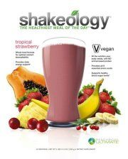 """Tropical Shakeology: Top Reasons to """"Think Pink""""  Tropical Strawberry Shakeology®—just the sound of it makes you want to enjoy a tall glass on a sandy beach. But there's so much more to it than just an enticing name. What's in it? What's the serving size? When can I get some?...Read More..."""